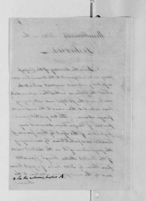 Tench Coxe to Thomas Jefferson, 1791, Miscellaneous Notes on Fisheries
