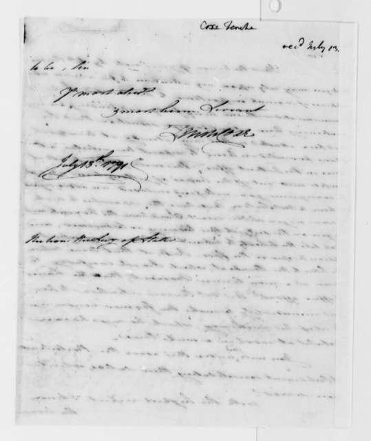 Tench Coxe to Thomas Jefferson, July 13, 1791