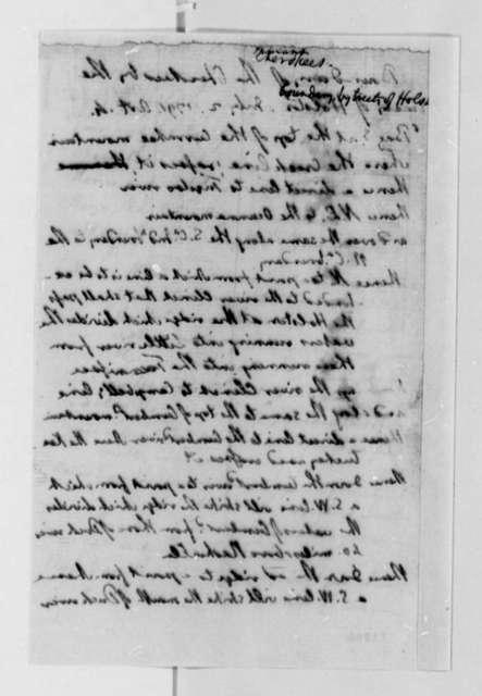 Thomas Jefferson, July 2, 1791, Cherokee Boundary Extract