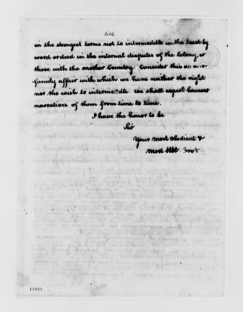 Thomas Jefferson to Fulwar Skipwith, May 13, 1791