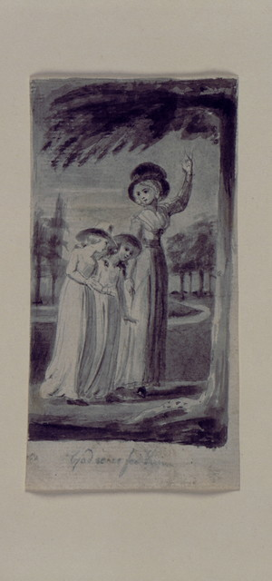 [Wash drawings for illustrations of Mary Wollstonecraft's Original stories from real life].