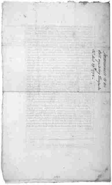 "Amendments to the bill, entitled. ""An act for regulating processes in the Courts of the United States, and providing compensations for the officers of the said courts and for jurors and witnesses. [Colophon:] Philadelphia Printed by John Fenno."