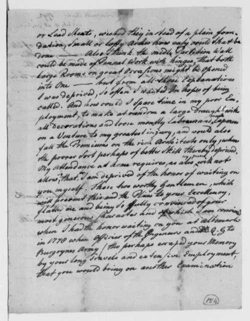 Charles Wintersmith to Thomas Jefferson, July 17, 1792