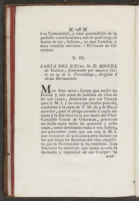 Disertacion en recomendacion y defensa del famoso vino malagueno Pero Ximen y modo de formado