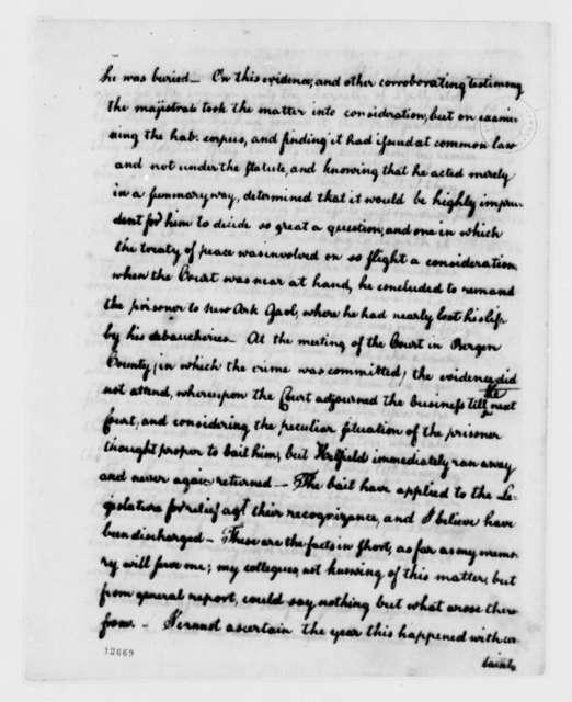 Elias Boudinot to Thomas Jefferson, April 11, 1792