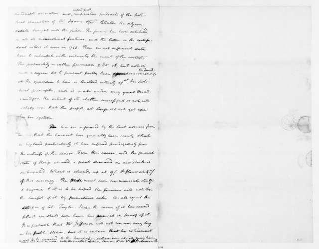 James Madison to Edmund Pendleton, December 6, 1792.