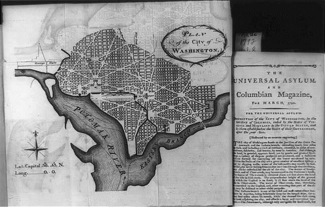 [L'Enfant map of Wash., D.C.]
