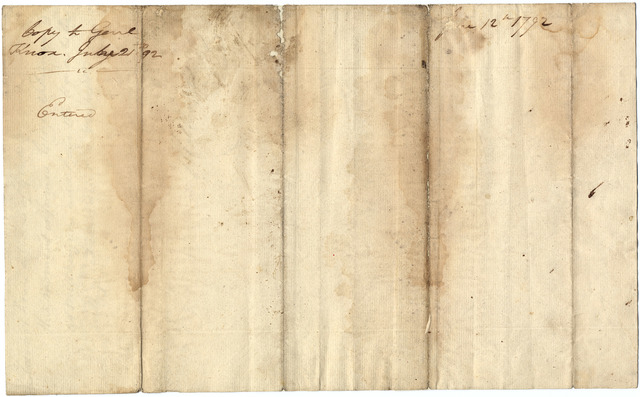 Letter from James Wilkinson to Henry Knox