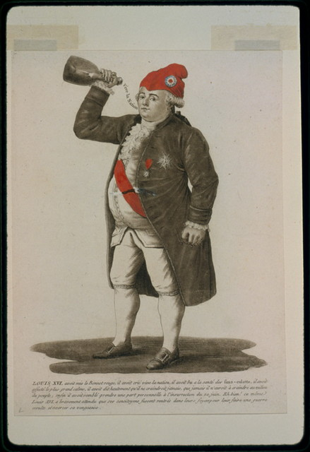 Louis XVI, avoit mis le Bonnet rouge, il avoit crié vive la nation, ...
