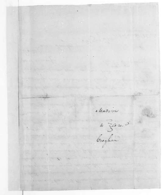 Richard Taylor to William Croghan. Receipt of sale dated March 12, 1792.