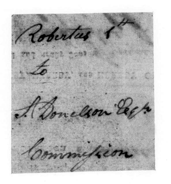 Robert Hays to Samuel Donelson, January 1, 1792