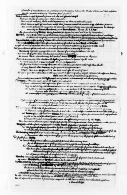 Senate, October 14, 1792, Fugitives from Justice