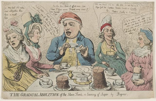 The gradual abolition off the slave trade or leaving of sugar by degrees