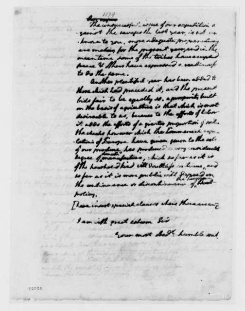 Thomas Jefferson to Foreign Ministers, May 31, 1792