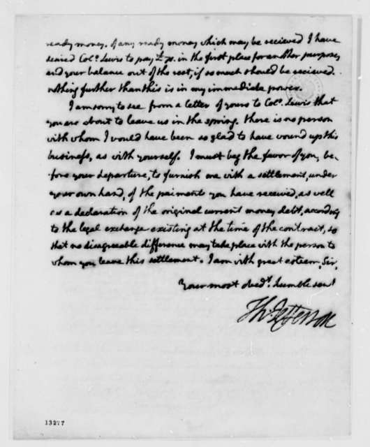 Thomas Jefferson to James Brown, July 29, 1792