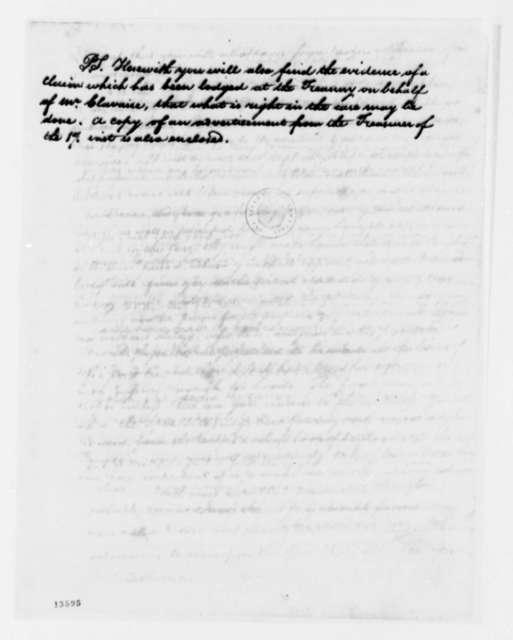 Thomas Jefferson to Mayor of Marseilles, et al, November 6, 1792