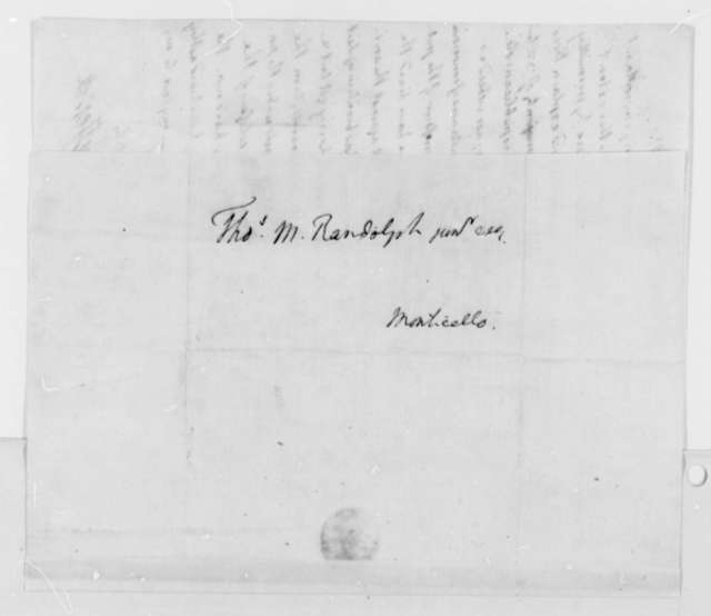 Thomas Jefferson to Thomas Mann Randolph, Jr., November 16, 1792, with Copy