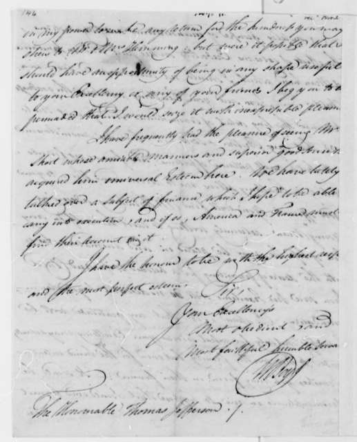 Walter Boyd to Thomas Jefferson, March 1, 1792