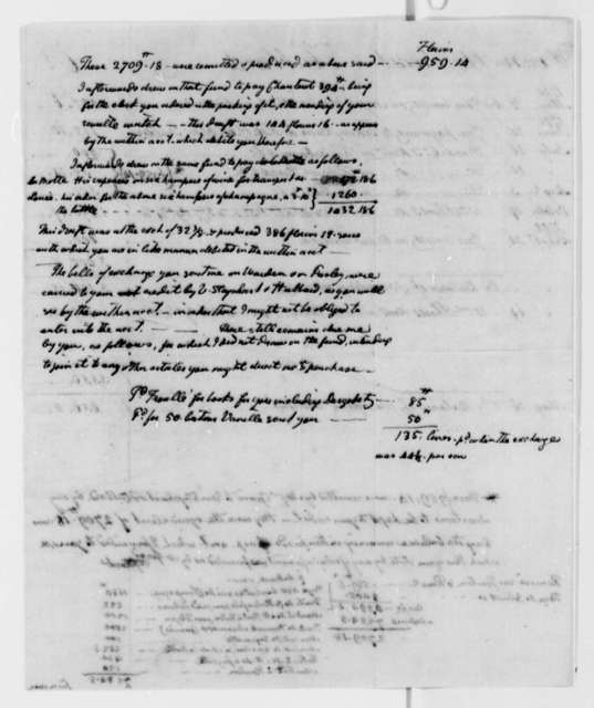 Wilhelm Willink, et al to Thomas Jefferson, May 30, 1792, with Account and Copy