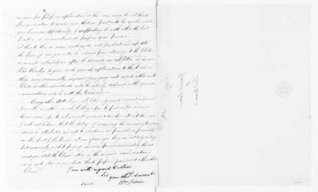 William Irvine to William Davies, July 18, 1792.