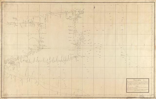 Carta esférica que comprehende la Ysla de Trinidad con sus adyacentes, bajos, sondas y veriles /