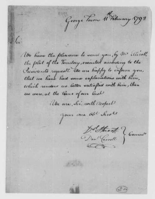 David Stuart and Daniel Carroll, Commissioners to Thomas Jefferson, February 11, 1793