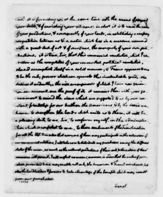 Edmond C. Genet to Thomas Jefferson, May 22, 1793