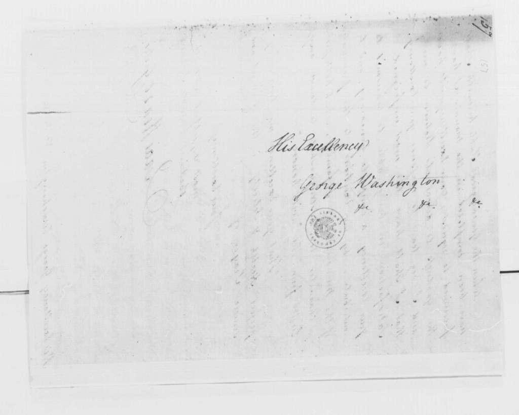 George Washington Papers, Series 4, General Correspondence: Isaac Heard to George Washington, August 9, 1793