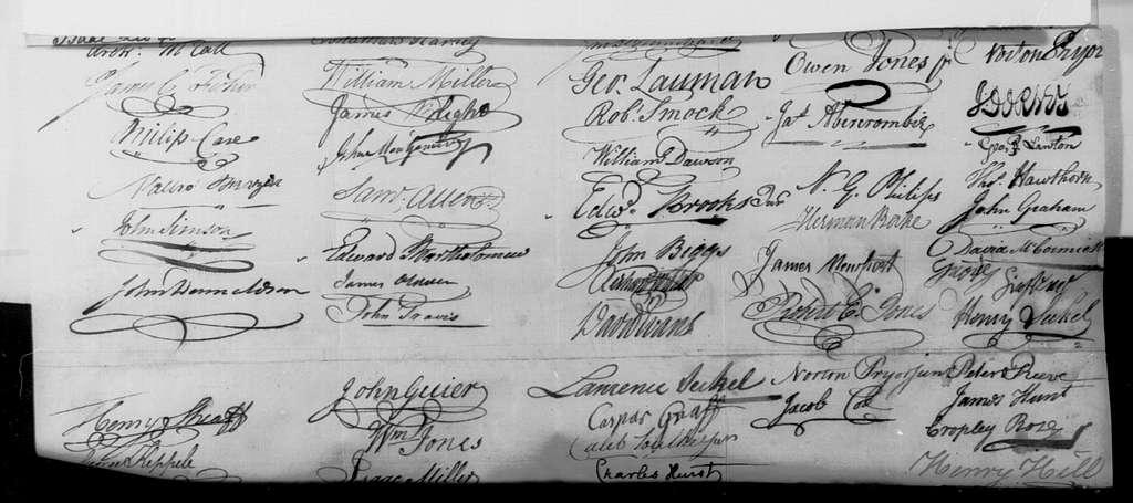 George Washington Papers, Series 4, General Correspondence: Philadelphia Merchants & Traders to George Washington, May 16, 1793