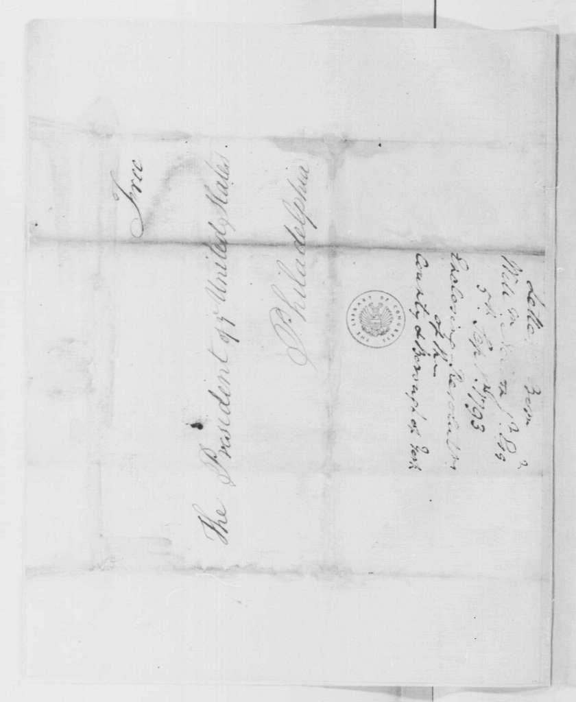 George Washington Papers, Series 4, General Correspondence: Yorktown, Virginia, Citizens to George Washington, September 5, 1793