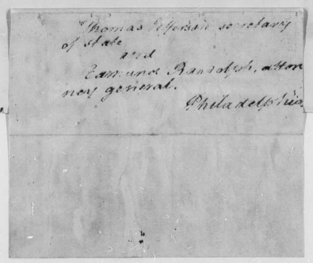 George Wythe to Thomas Jefferson and Edmund Randolph, August 17, 1793