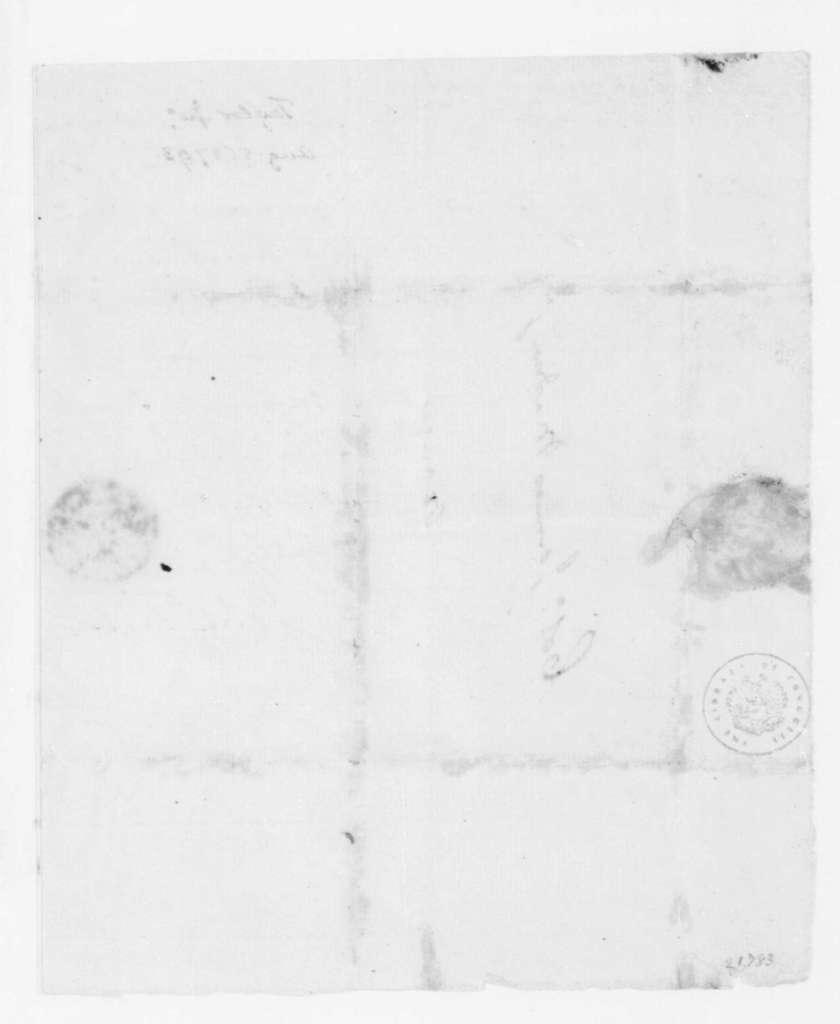 John Taylor to James Madison, August 5, 1793.
