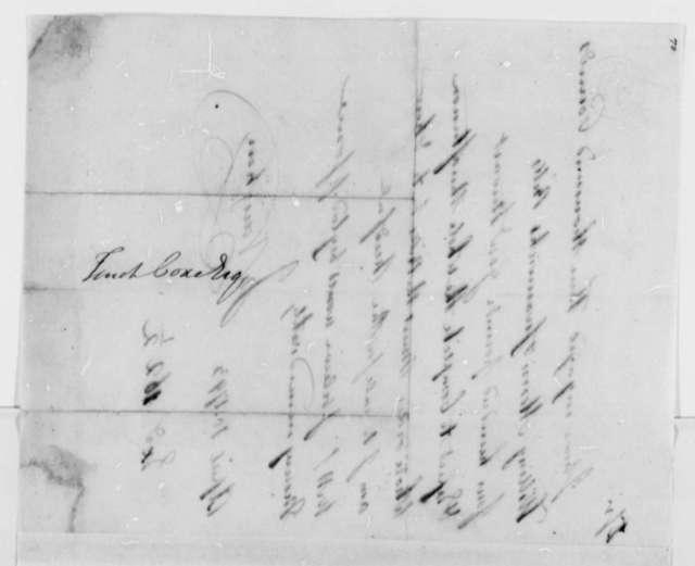 John Vaughan to Tench Coxe, April 10, 1793