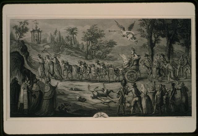 [L'Ordre et la marche des puissances coalisees contre la France] / composé et gravé par J.B. Louvion.