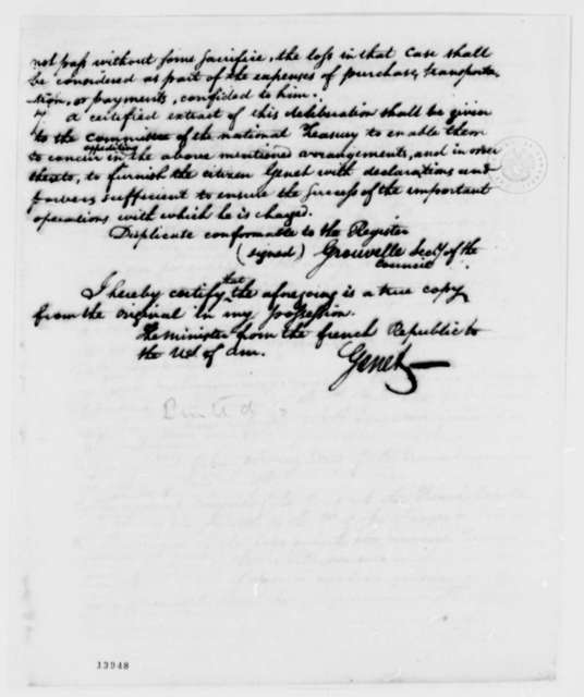Provisory Executive Council of France, January 4, 1793, Report on Deliberations and Translation