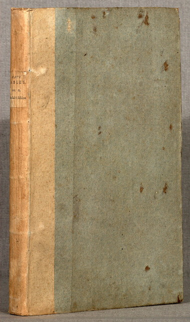 The fables, with a life of the author, and embellished with 112 plates.  London, J. Stockdale, 1793.  2 v. plates. 29 cm.