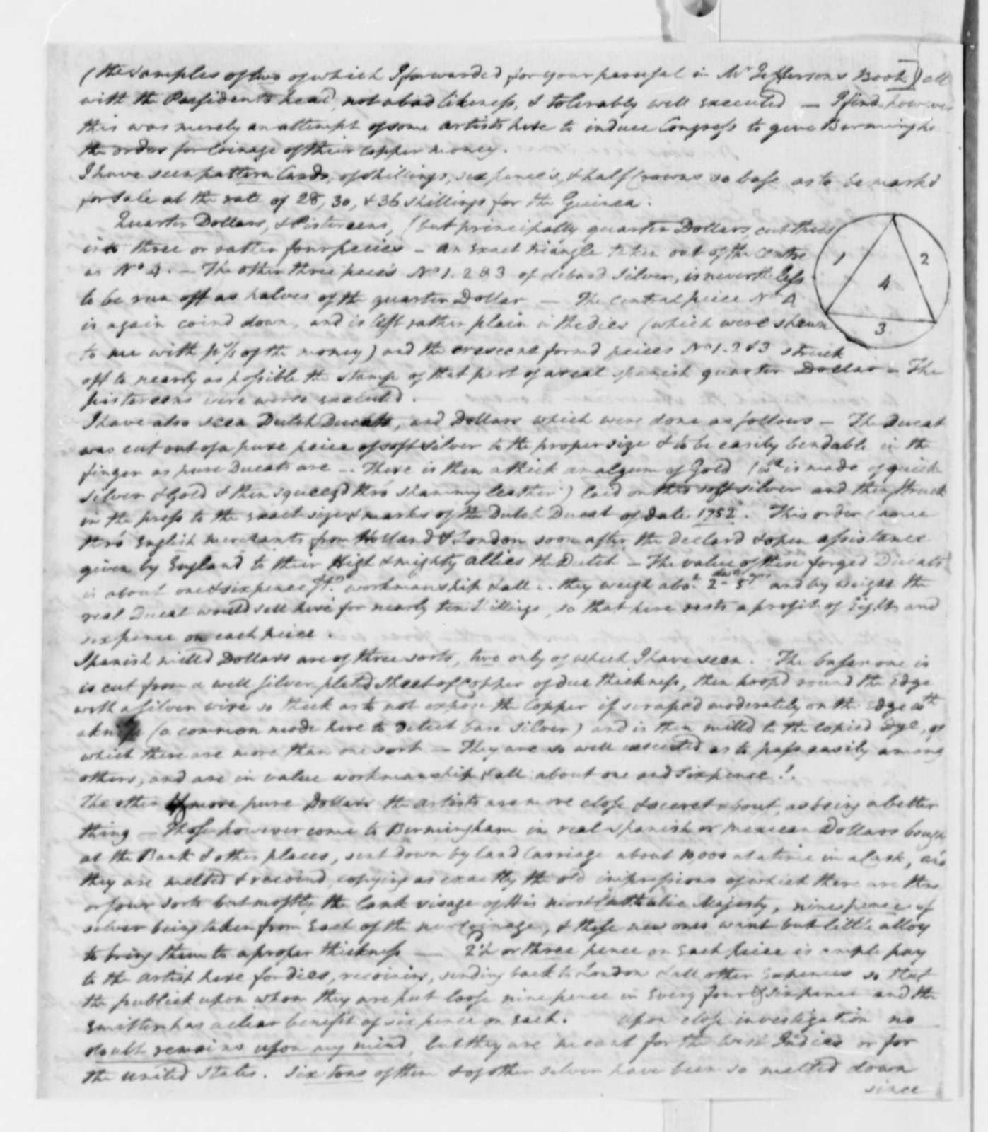 Thomas A. Digges to Thomas Pinckney, April 6, 1793
