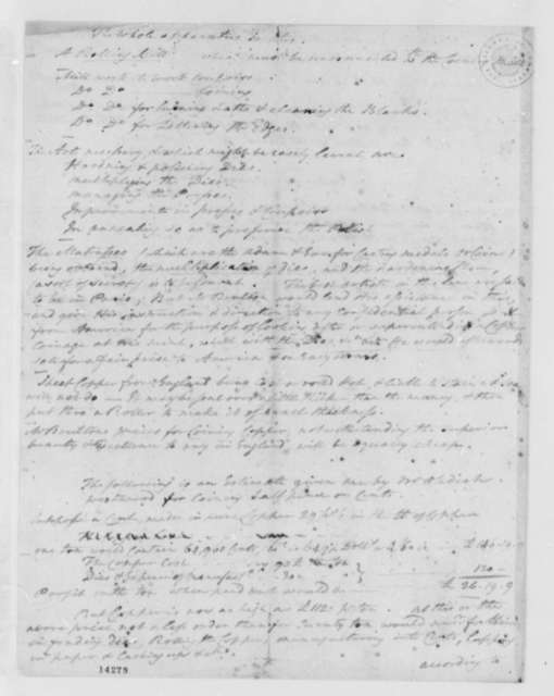 Thomas Digges to Thomas Jefferson, March 10, 1793