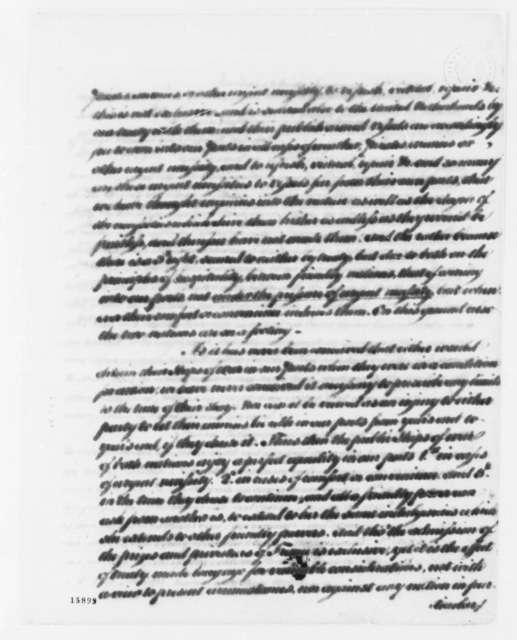 Thomas Jefferson to Franco Petrus van Berckel, September 9, 1793, with Thomas Jefferson's Revisions