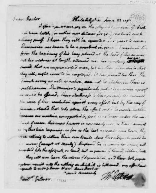 Thomas Jefferson to George Gilmer, June 28, 1793