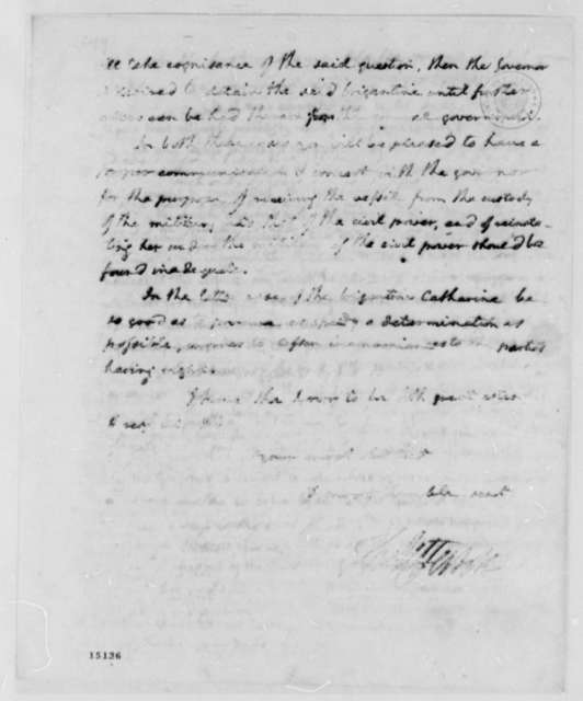 Thomas Jefferson to Richard Harrison, June 12, 1793