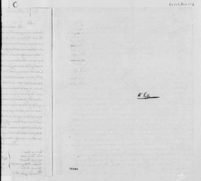 Thomas Jefferson to U. S. District Attorneys, November 29, 1793
