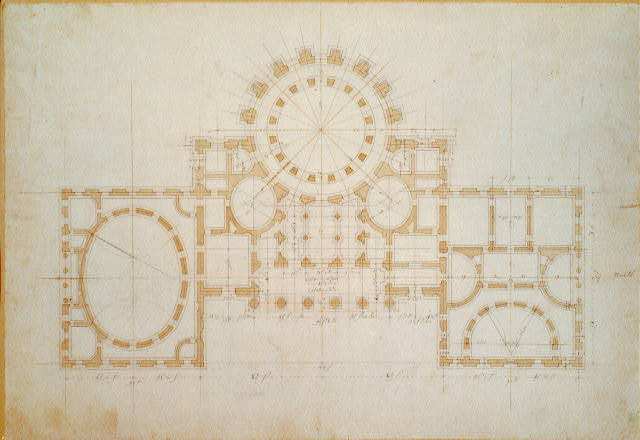 "[United States Capitol (""Federal Capitol""), Washington, D.C. Floor plan]"