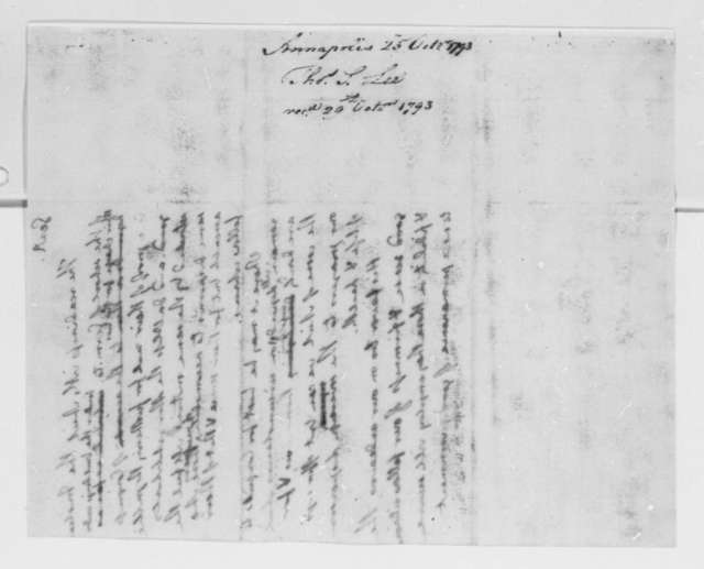 Washington to Germantown, Pennsylvania, School, October 25, 1793