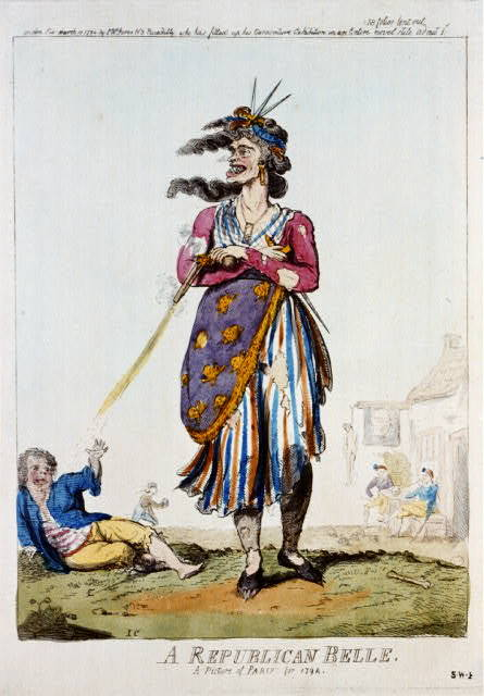 A republican belle - a picture of Paris for 1794 / IC.