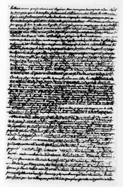 F. D. Ivernois to Thomas Jefferson, November 11, 1794, in French and Partly Illegible