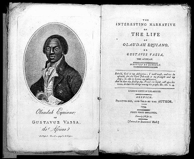 [Frontispiece and title page from: The interesting narrative of the life of Olaudah Equiano]