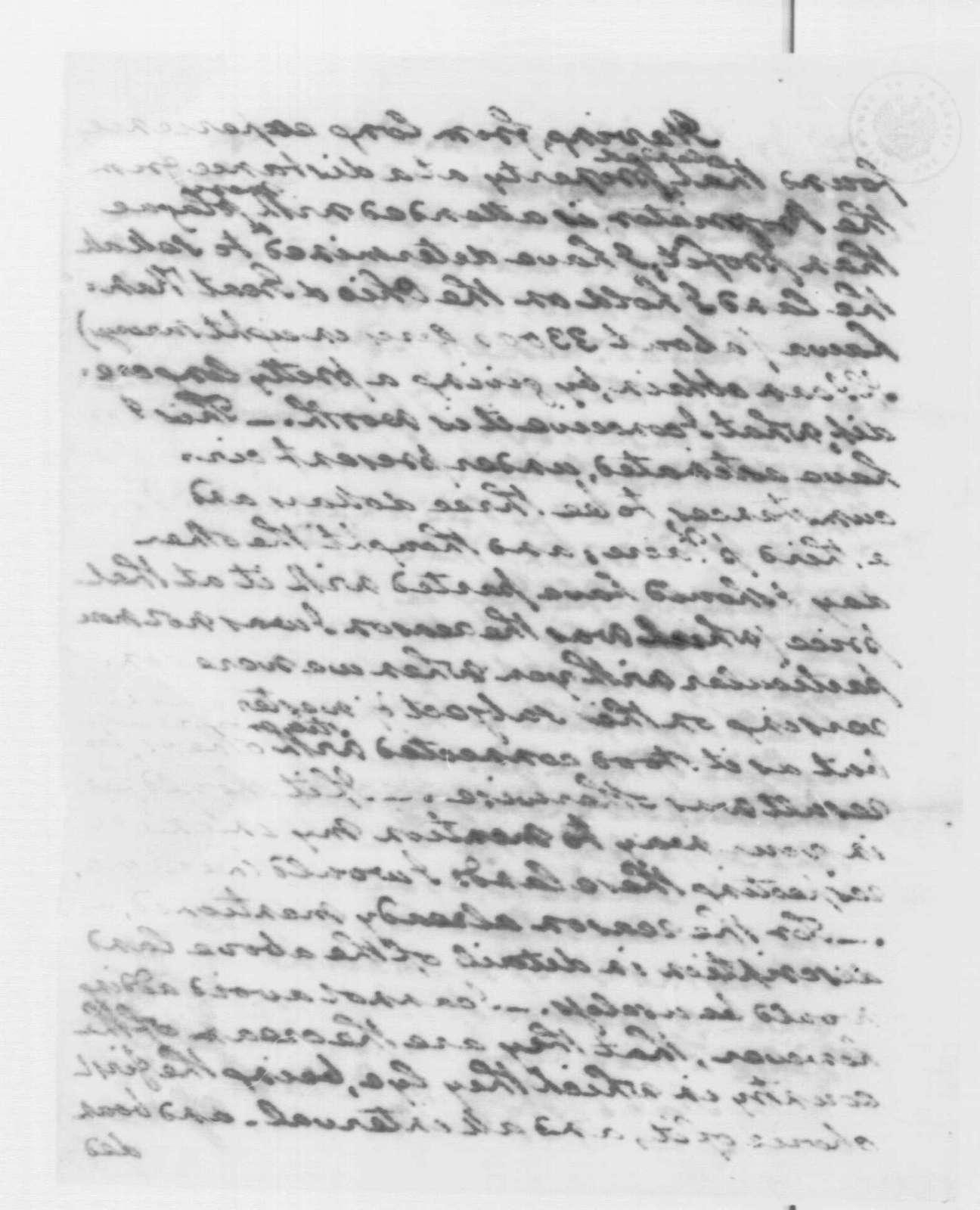 George Washington Papers, Series 4, General Correspondence: George Washington to James Ross, June 16, 1794