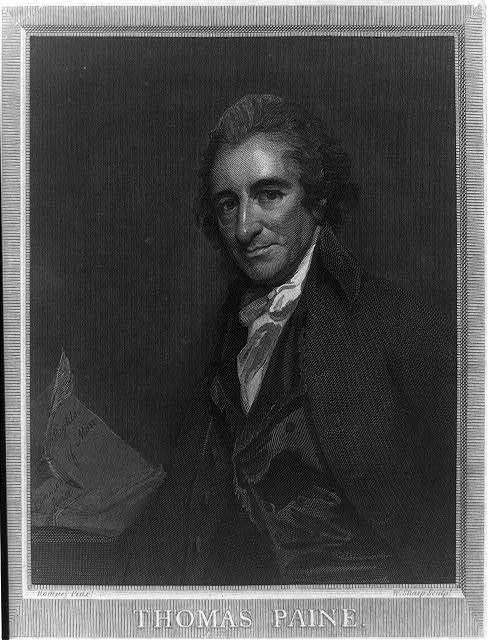 Thomas Paine / Romney pinxt. ; W. Sharp sculpt.