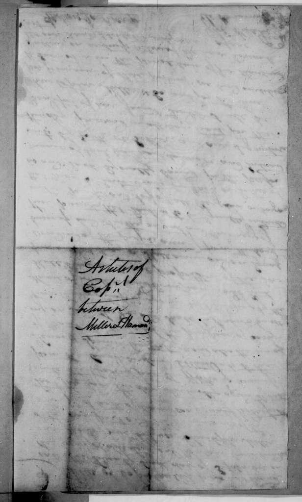 Eli Miller to C. Hammonds, September 27, 1795